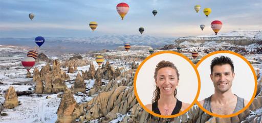 Kapadokya'da Yeni Yıl Kampı